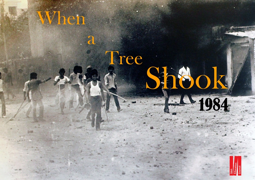 When a tree shook – November 1984 mobile exhibition