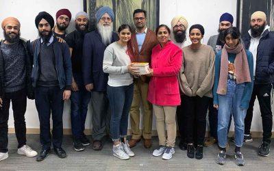 Punjabi University scholars welcomed by SEC students