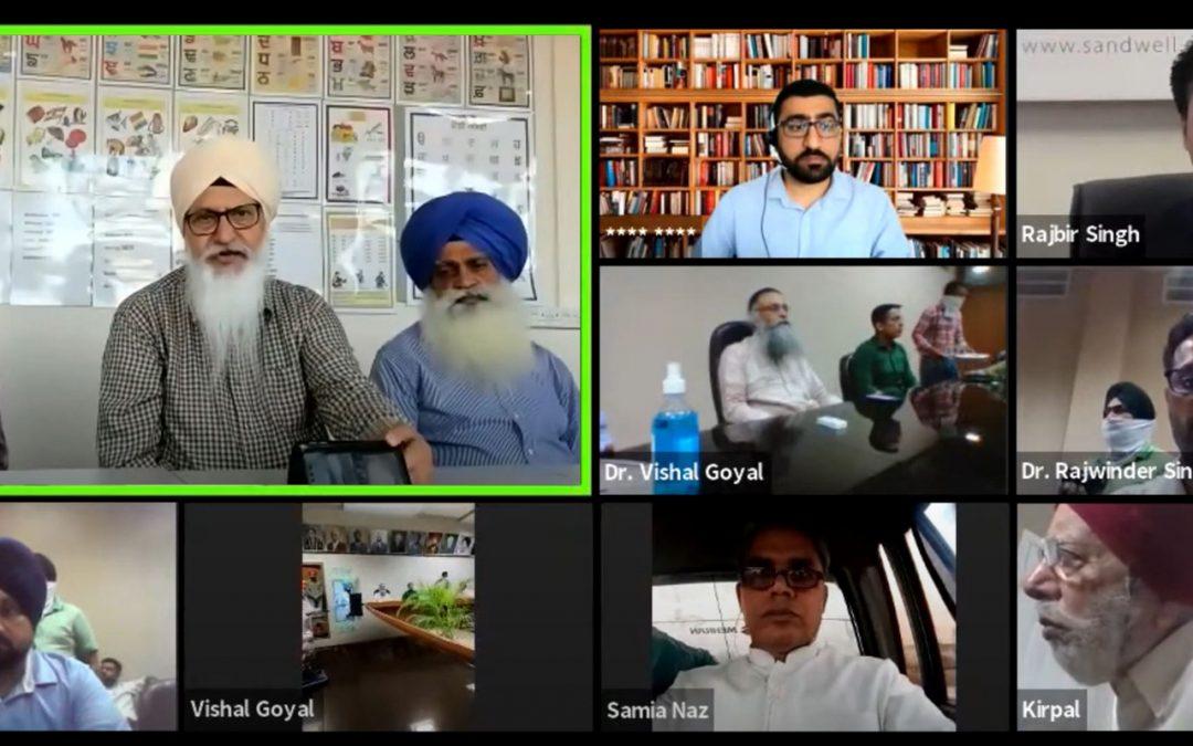 Launch of Punjabipedia Android app